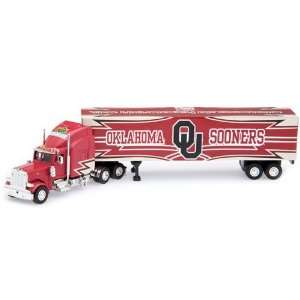 Sooners Die Cast Collectible Tractor Trailer