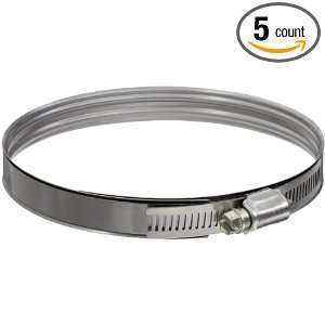 Murray DB Series Stainless Steel Worm Gear Hose Clamp, 4.44 Min Clamp