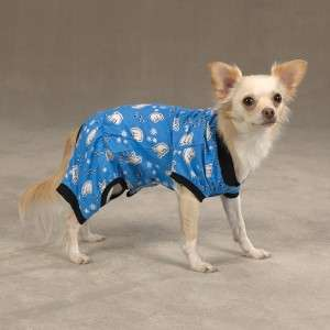Casual Canine Cozy Dog Pajamas PJs MD Blue Polar Bear