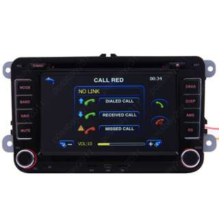 Volkswagen T5 Caravelle Car GPS Navigation DVD Player