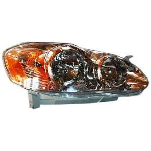 TYC 20 6235 80 Toyota Corolla Passenger Side Headlight