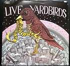 LIVE YARDBIRDS WITH JIMMY PAGE MEGA RARE OOP ORIGINAL