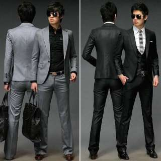Mens Slim Luxury Premium Stylish Three Piece Suits (2459)