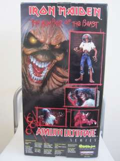 Iron Maiden Asylum Ultimate Eddie 18 Toy Figure. **MINT in BOX