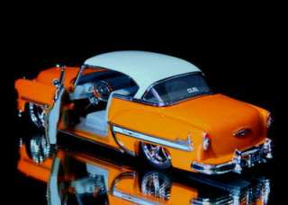 1953 Chevy Bel Air Dub City OLD SKOOL 124 Scale   Orange
