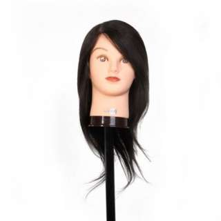 Cosmetology Mannequin Head Hairdressing 22Black Clara