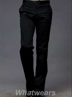 New Mens Stylish Slim Fit Pants 2 Color 5 Size J47