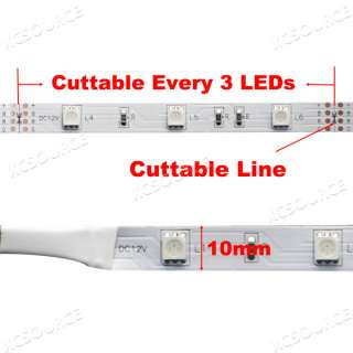 5M SMD strip 5050 RGB flexible LED strip light 150LEDs 12V LD60A