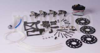 wheel hydraulic brake system 1/5 scale BAJA HPI KM 5B 5T 5SC RC