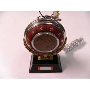 Franklin Mint Official Air Force Service Pocket Watch with