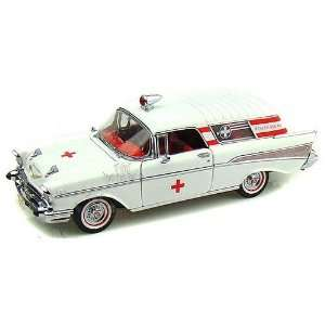 Unique Replicas   Chevy Bel Air Nomad Ambulance Hard Top Toys & Games