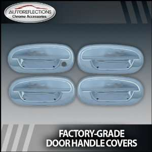 1997 2003 Ford Expedition Chrome Door Handle Covers (w/o