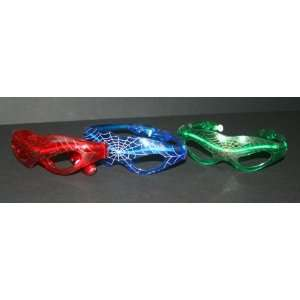 3 Spider Man Light Flashing Glasses (9 Lights) Assorted