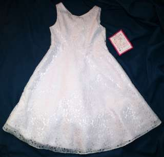 NEW NWT Emily West PINK Wedding Party DRESS Girls 10