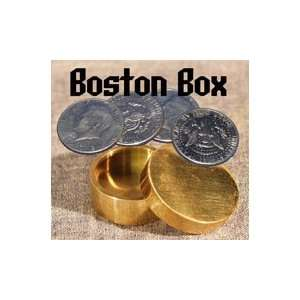 Boston Box, Half Dollar   Brass Toys & Games