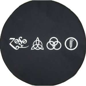 ® Brawny Series   Led Zeppelin Runes 30 Tire Cover Automotive