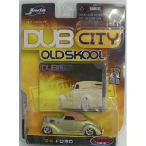 Jada Toys 1/64 Scale Diecast Dub City Old Skool Wave 1 1936 Ford No