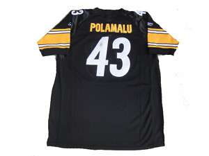 Troy Polamalu Signed Pittsburgh Steelers Jersey GAI