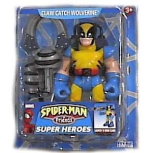Friends Claw Catch Wolverine Action Figure By Toy Biz Toys & Games