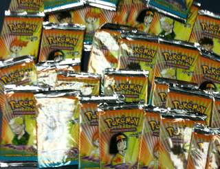 3x Pokemon Trading Card Game Gym Heroes Booster Packs