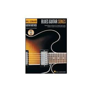 Hal Leonard Blues Guitar Songs (Book and CD) Musical