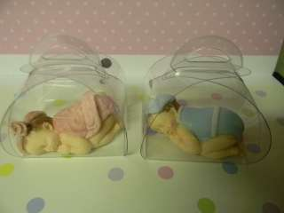 MINI Fondant Edible Baby, shower favor or cake topper