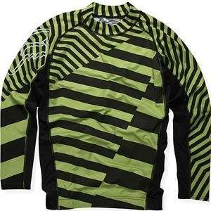Fox Racing Berzerker Rashguard   Large/Black Automotive