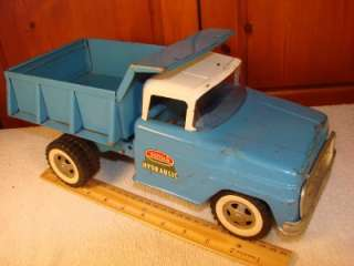 VINTAGE TONKA DUMP TRUCK RARE PRESSED STEEL 1950s 1960S ? TOY OLD CAR
