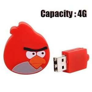 Lovely Angry Birds Design 4GB USB Flash Memory Flash Drive