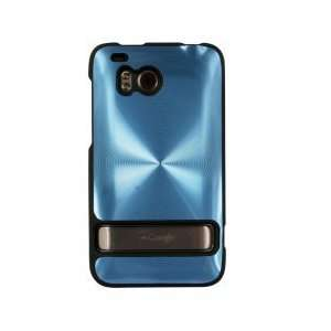 Laser Cover for HTC Thunderbolt   Blue Cell Phones