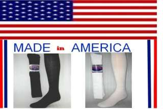 Big and Tall Men cotton over the calf crew socks extra long black or