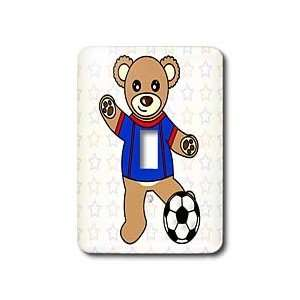 Janna Salak Designs Teddy Bears   Cute Soccer Player Teddy Bear