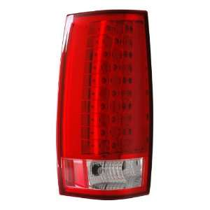 2010 Chevy Tahoe/suburban Led G4 Tail Lights Red/clear (Escalade Look
