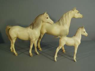 Vintage Breyer Model Horse set, Proud Arabian Family, model #s 211