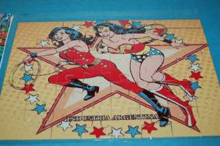 WONDER WOMAN DC COMIC SUPER FRIENDS PUZZLE ARGENTINA 2