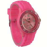 Pink Unisex Mens Ladies Students Jelly Candy Wrist Watch, LX044