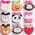 kids baby lunch bibs cute cartoon 3d animal soft saliva