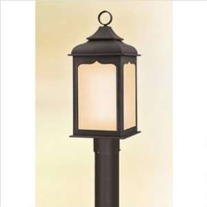 Henry Street Post Lantern in Colonial Iron