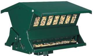 New Absolute II Squirrel Proof Bird Seed Feeder   Green