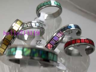 fashion lot Stainless steel RINGS WHOLESALE women men jewelry