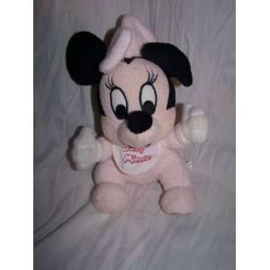 Walt Disney World Baby Minnie Mouse Plush 8