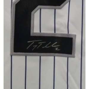 NEW Troy Tulowitzki SIGNED COLORADO ROCKIES Jersey