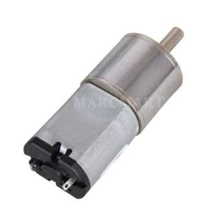 DC 3V 100RPM Replacement Micro Gear Box Electric Motor (OT165)