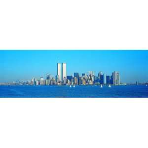 Panoramic Wall Decals   New York City Skyline 2 (4 foot wide Removable