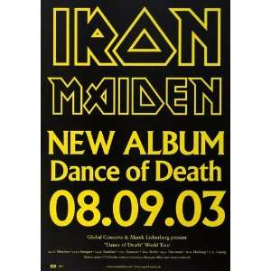 Iron Maiden   New Album 2003   CONCERT   POSTER from