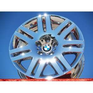 BMW 7 seriesStyle 93 Set of 4 genuine factory 18inch chrome wheels
