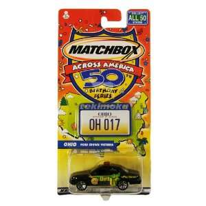 Matchbox Across America 50th Birthday Series OHIO Ford