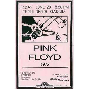 Pink Floyd (Three Rivers Stadium Concert) Music Poster