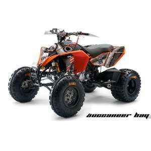 AMR Racing KTM 450, 525 and 505 ATV Quad, Graphic Kit   Buccaneer Bay