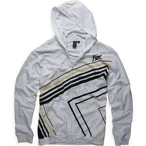 Fox Racing Clockwork Hoody   Medium/White Automotive